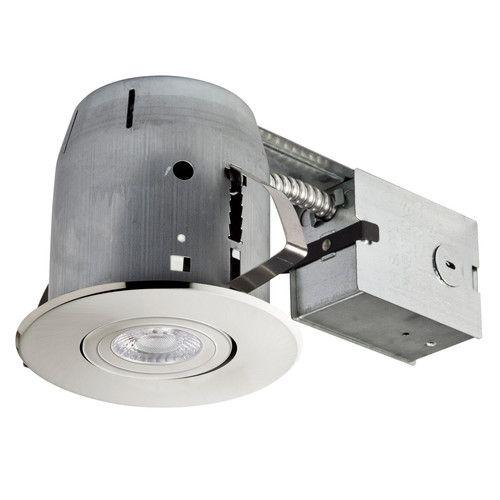 Found it at AllModern - Swivel Spotlight LED Recessed Lighting Kit