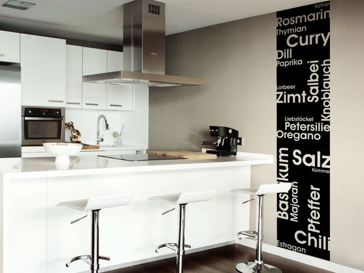25+ parasta ideaa Pinterestissä: Wanddeko küche | Deko küche ...