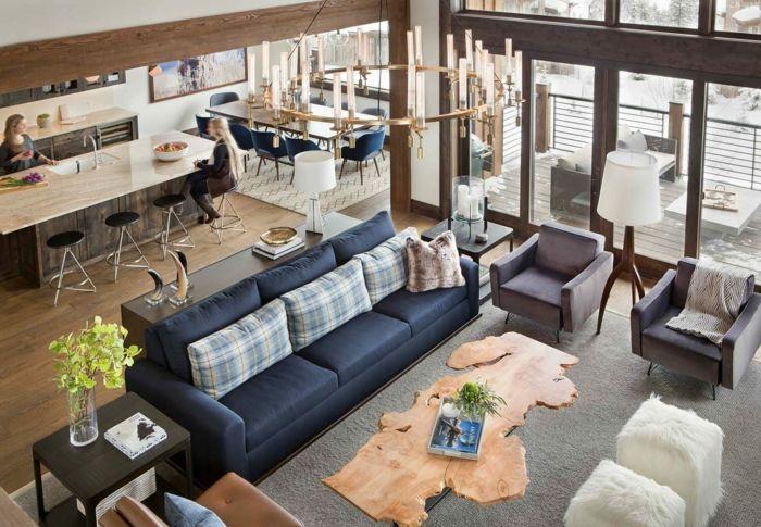 ▷ 1001 + ideas sobre decoración de salones rústicos ...