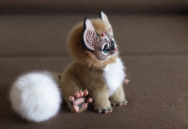 Cat Dragon 2 by Santani.deviantart.com on @DeviantArt