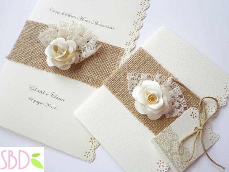 Partecipazioni di Nozze Shabby - Shabby Wedding Invitations