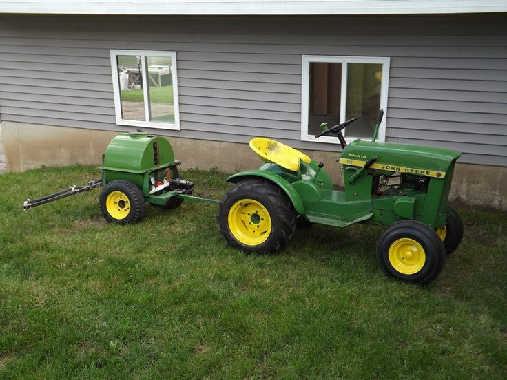 Antique John Deere Lawn Tractors : Best images about john deere garden tractors on