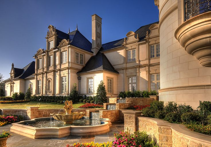 10 best french chateaux images on pinterest for Interior design firms fort worth tx