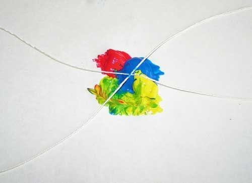 Развитие воображения ребенка (творчество) ТЕМА: Рисуем нитками | Азбука Ума - раннее развитие детей, игры с детьми, презентации для дошкольников