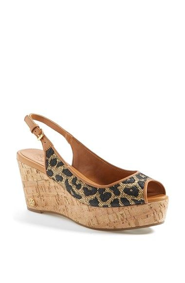 f2a1552a4f8ff Tory Burch  Rosalind  Wedge Sandal (Online Only) available at