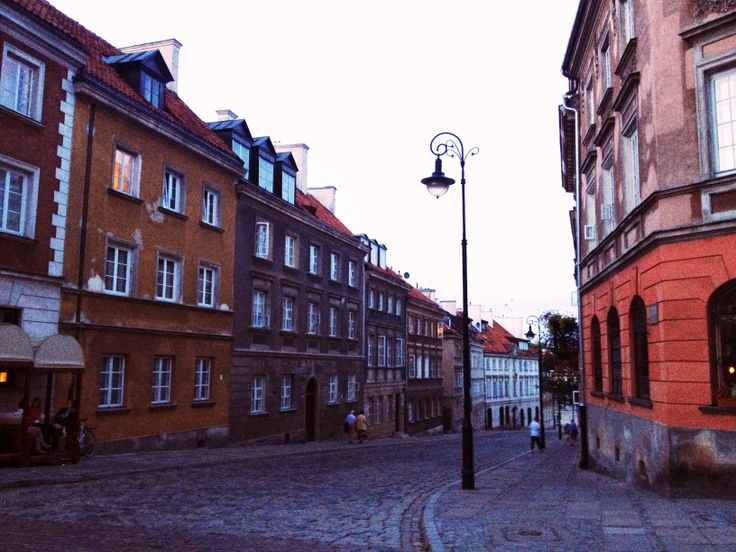 Warsaw, old town, summer 2013