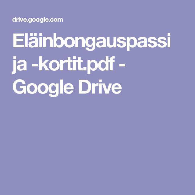 Eläinbongauspassi ja -kortit.pdf - Google Drive