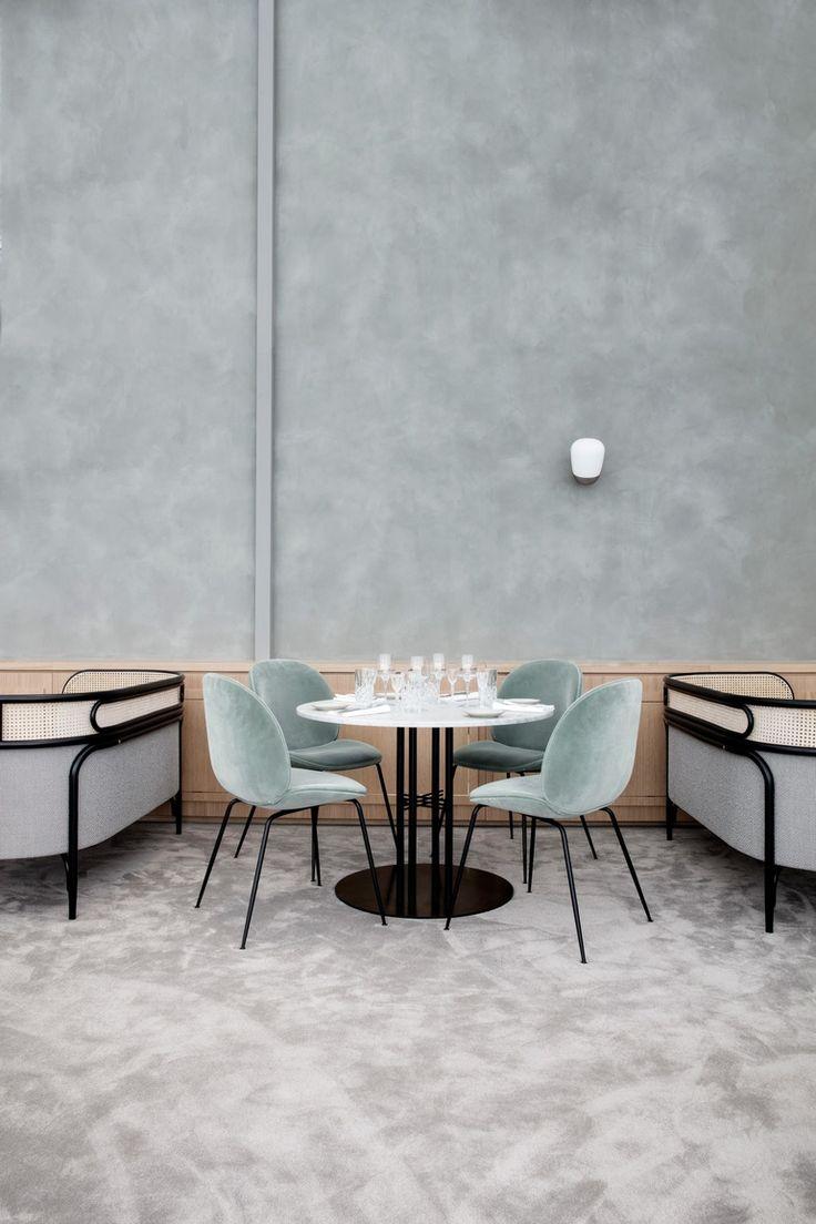 14 Highlights From Stockholm Furniture Fair 2017 Cafe InteriorsRestaurant InteriorsHospitality DesignDining RoomsDining TableLuxury