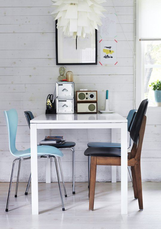 Give Your Chairs And Interesting Pieces The Attention They Deserve With Simple Minimalist Ikea Melltorp Dining Table