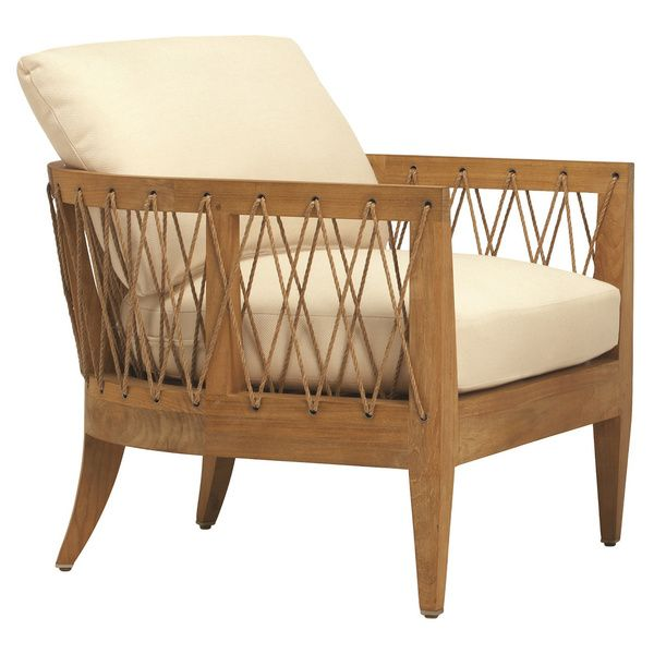 Brown Jordan Marin Wood Outdoor Lounge Chair.  Stunning chair in teak.