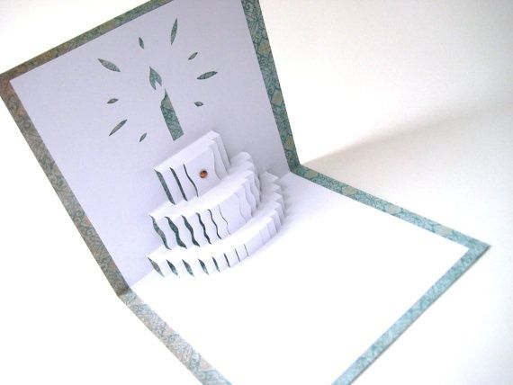 how to make a birthday cake card