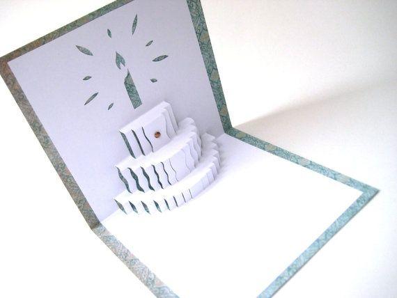 how to make a pop up cake