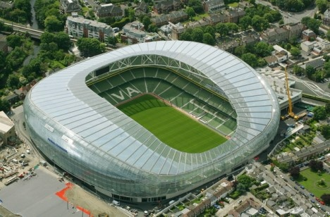 Aviva Stadium, Dublin, Ireland | Stadiums in Europe ...