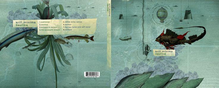 Krill Minima: Nautica - Unreleased artwork for a CD cover.