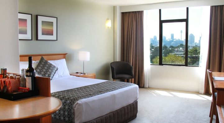 The City View Room at Rydges Camperdown.