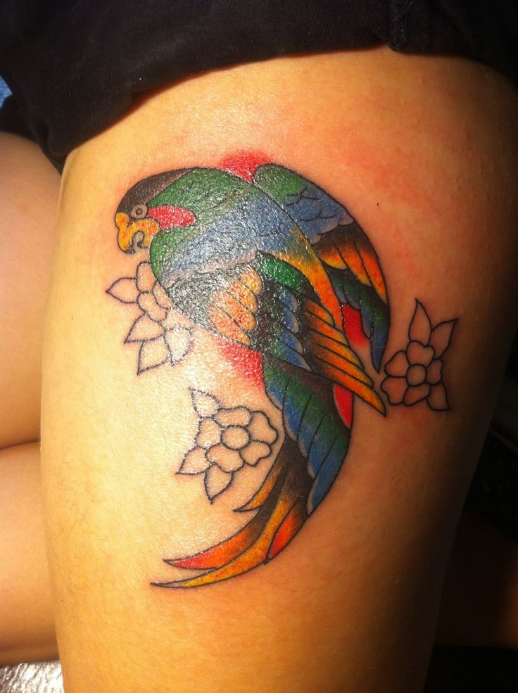 1000+ ideas about Thigh Tattoo Designs on Pinterest ...