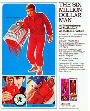 Retro Thing: Upgrade Your Six Million Dollar Man Action Figure