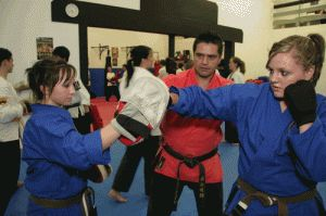 MMA training can tremendously improve the strength of the person's body.