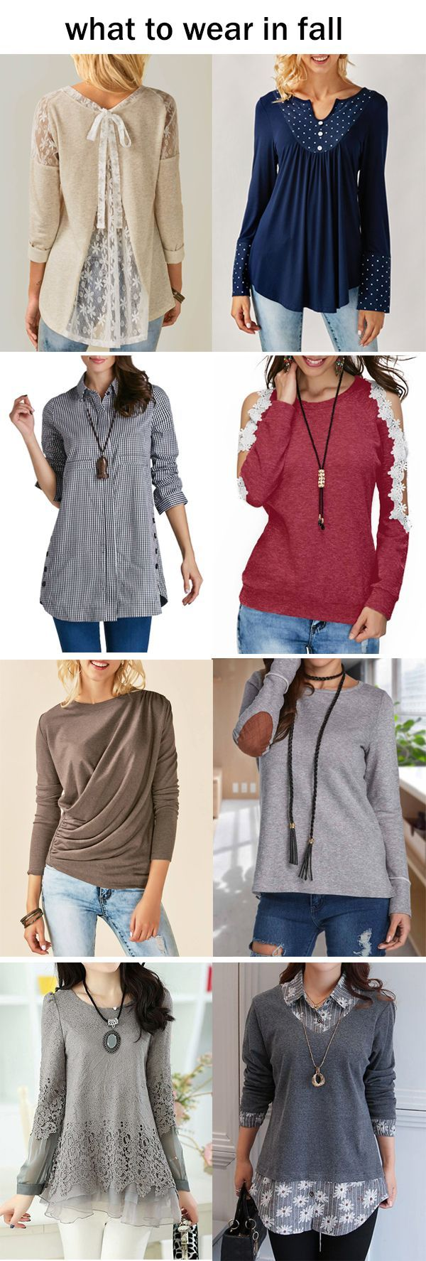 cute long sleeve tops for fall, click the picture to buy them now!