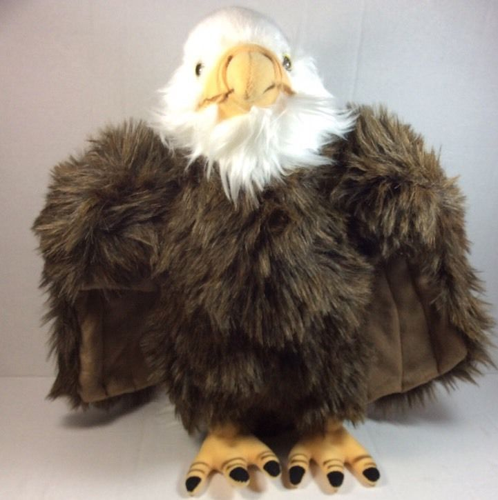 Toys From Cabela S : Cabela s save our space bald eagle plush quot soft toy
