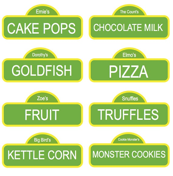 order these food labels, once I finalize the food!