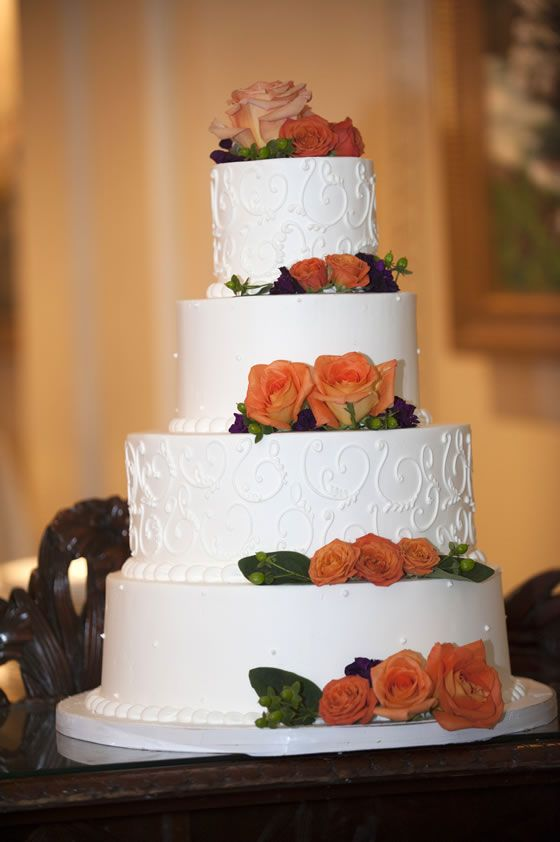 how to make a 5 layer wedding cake 1000 images about orange wedding ideas on 15789