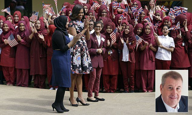 Did Michelle Obama not see the irony in Tower Hamlets speech?