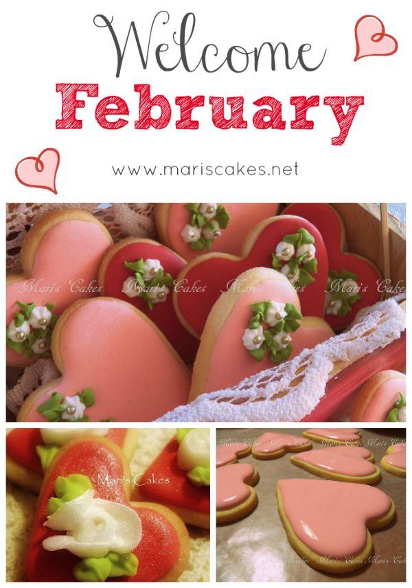 Galletas decoradas, decorated cookies @ Mari's  Cakes blog.