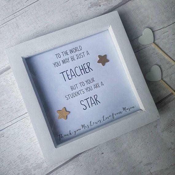 Teacher gift~Tutor Thank you gift~Tutor thankyou keyring gift~personalised