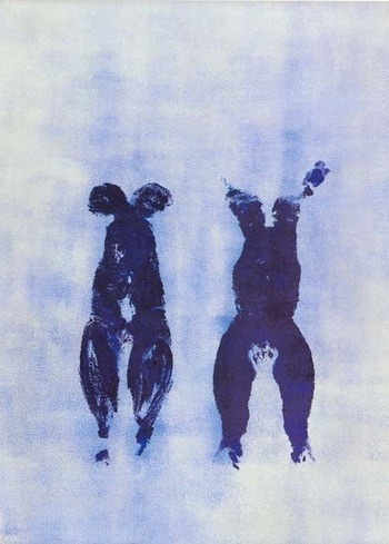 yves klein. anthropometrie