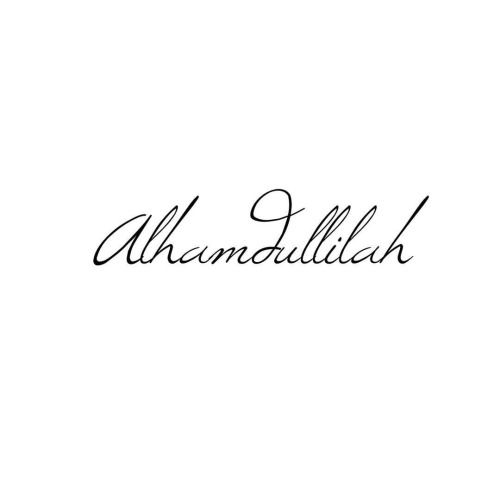 thanks god , <3 #alhamdulilah @inshaalkhizar #foreverything #islamicquotes @inshaalkhizar.