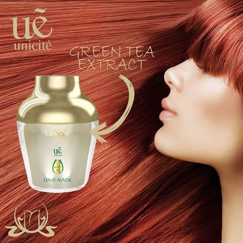 Do you dream about silky, supple and vital #hair? You should take care of your hair in a special way in the #summer.  This #GreenTea Hair Mask efficiently repairs damaged hair.  Contains silk amino acids that help to create silky, manageable tresses, helps keep hair healthy by protecting your hair from environmental stressors thanks to the green tea extract.