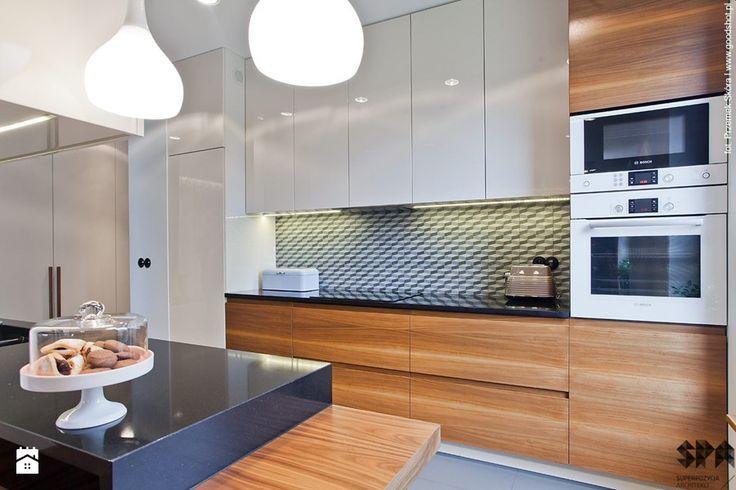 Apartament Wille Parkowa 2 - Średnia kuchnia - zdjęcie od superpozycja architekci