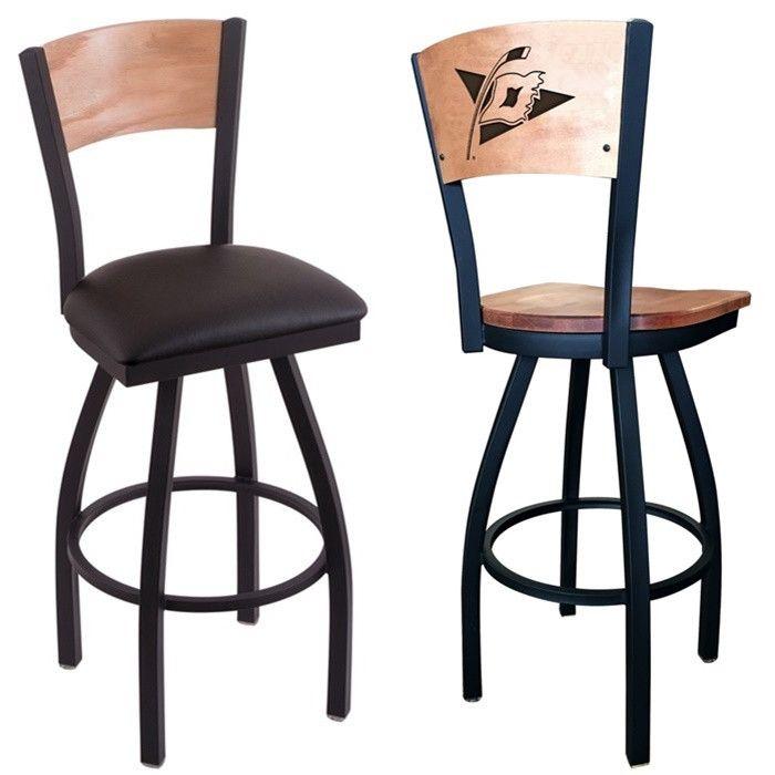 Carolina Hurricanes NHL Laser Engraved Bar Stool. Choose from several options. Visit SportsFansPlus.com for details.