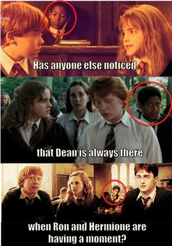 HAHAHAHHAAHAHHAHAHAHA!!!!: Dumbledore Army, Harry Potter Funny, Dean O'Gorman, Mischief Management, Ron And Hermione, Harry Potter Humor, New Books, Funny Harry Potter, Dean Thomas