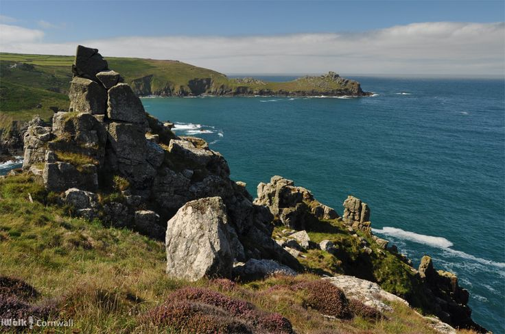 iWalk Zennor to Gurnard's Head - a circular walk from Zennor along the coast via the sea-smoothed granite boulders at Porthmeor Cove to the site of an Iron Age fort on Gurnard's Head, returning from the Gurnard's Head pub on the ancient Churchway to Zennor - 4.2 miles - moderate - http://iwkc.co.uk/wa/175. Photos on the route: https://www.pinterest.com/iwalkcornwall/iwalk-zennor-to-gurnards-head/
