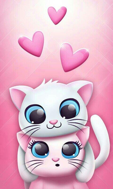 Pin By Manzar On Girlish Wallpapers Kitten Wallpaper Kitty Wallpaper Cat Wallpaper