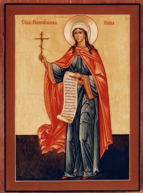 picture of the sainta and apostles | Saint Nina, Equal to the Apostles…