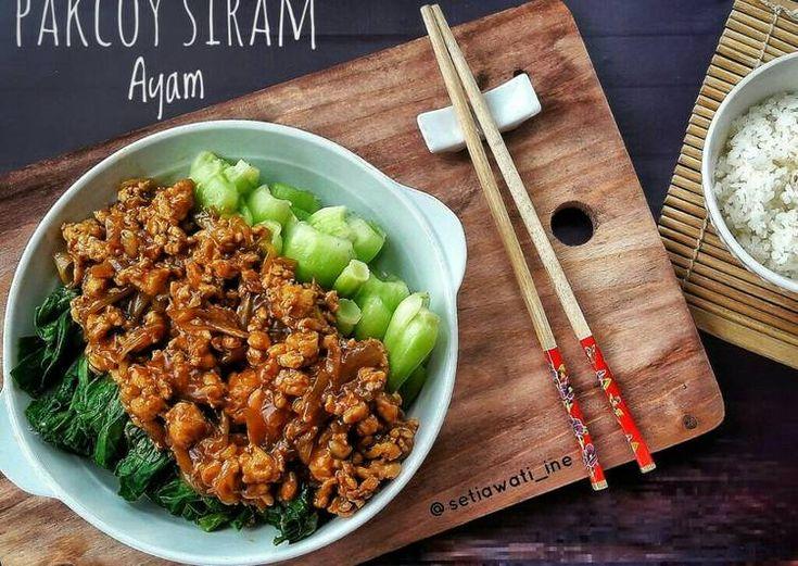 Pakcoy Siram Ayam