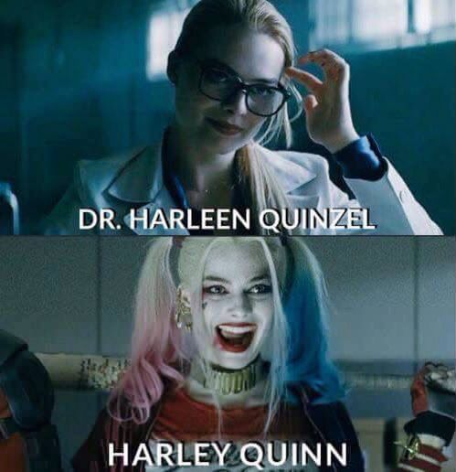 Dr. Harleen Quinzel/Harley Quinn --Be your own Whyld Girl with a wicked tee today! http://whyldgirl.com/tshirts