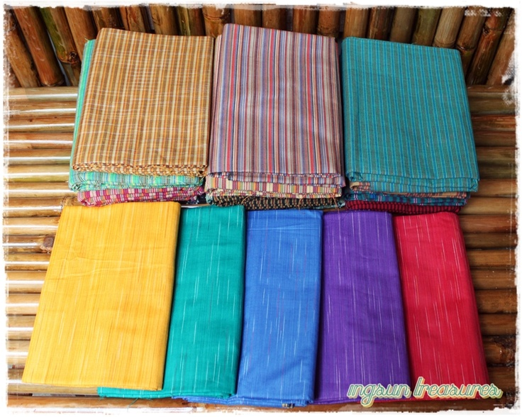 Tenun Lurik    fabric : handwoven 100% cotton  size : 200x120
