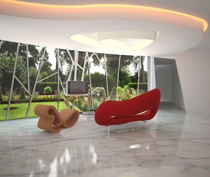 AZ Architect Signature House Design ( Living Room )