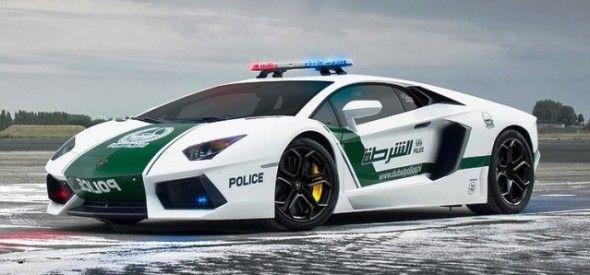 Полицейские машины мира