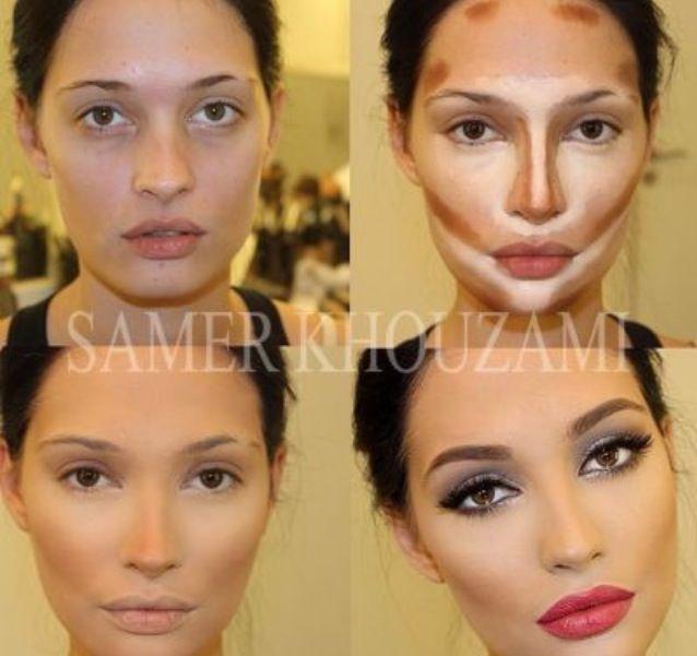 Emphasizing facial features