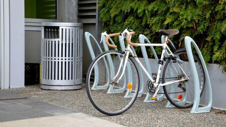 TENAJ #bike #racks in Vancouver BC. #landscapearch #sitefurniture #design