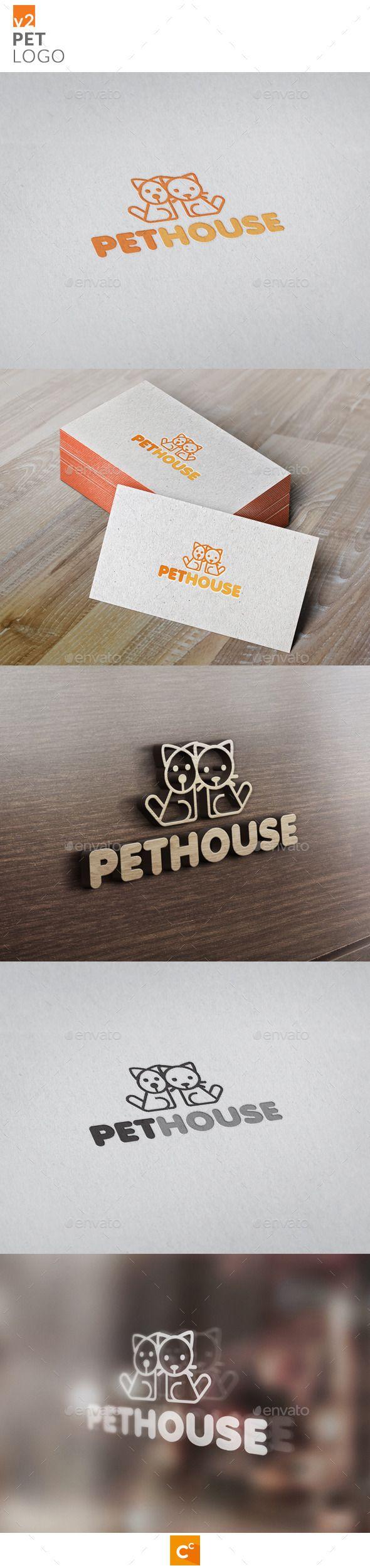 Pets Logo v2 - Animals Logo Templates
