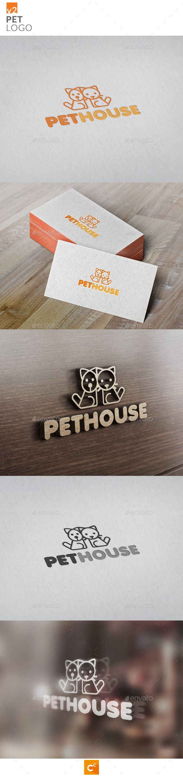 Pets Logo v2 - Animals Logo Templates