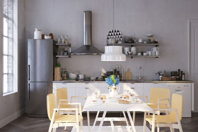 Top 5 Must-Haves for a Modern Condo Kitchen / Make the kitchen your favorite room in your condo with these must-have design additions! #apartment #design #home  #kitchen #interiordesign #homedecor #homeinspo #love #realestate #inspiration #newyork