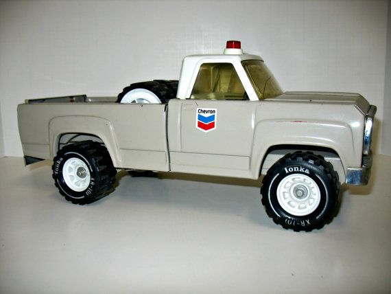 Tonka Chevron Gas Oil Pick up Truck Vintage by That70sShoppe, $55.00