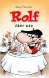 """Rolf äter ute - Rune Fleischer """"Många killar som kämpat med sin läsning har funnit läsglädje i de korta berättelserna om Rolf. Han är den lille dråplige mannen som hela tiden gör bort sig. Och tar motgångarna med ett leende. Några har liknat honom vid Mr Bean. Böckerna om Rolf vänder sig till barn i årskurs F-3 som just knäckt läskoden. De passar också för lite äldre elever med stora lässvårigheter och för nyanlända till Sverige."""""""